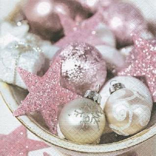 20 Servietten Pink Xmas