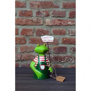 Frosch Gärtner des Jahres