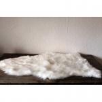 Schaffell Imitat 65x90cm weiß