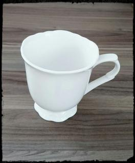 Chic Antique Kaffee Becher, Pott Provence 10 cm weiß