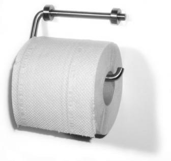 WC-Rollenhalter Edelstahl oder Messing
