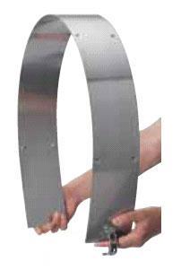 armaturen-HAI PowerReel Blechverkleidung aus Edelstahl
