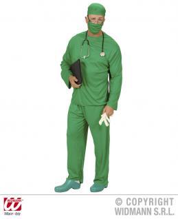 CHIRURG Kostüm, Arzt, Doktor 5tlg. ---Gr. S