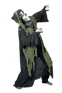 Monster Grusel Vampir Kostüm Umhang Kutte Kapuze, Herren Halloween