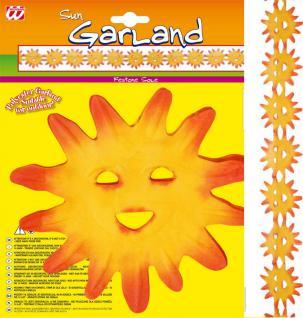 Sonnen Girlande, Outdoor, Hawaii, Sommer Mottoparty, Deko, 3 m