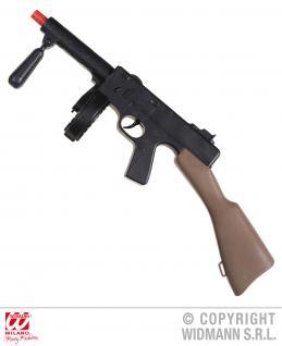 Gangster Maschinengewehr ca 50cm pass. z. Gangster SWAT Polizei Kostüm