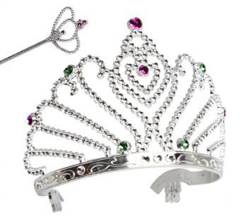 Sonstige Prinzessinset:Zepter,Krone,Armband
