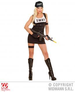 SWAT Cap Mütze Polizei FBI Größenverstellbar Erwachsene - Vorschau 3