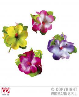 Hibiskus Spange, Blume, Hawaii XL ---gelb - Vorschau 2