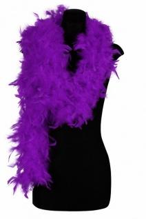 Federboa Boa lila 200 cm lang 80 g Karneval Charleston Damen