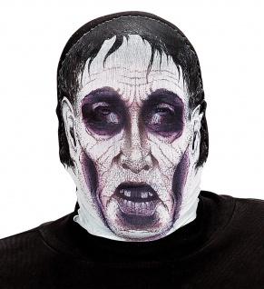 Monster Grusel Maske, Stoff Maske hauchdünn, Gesichtsmaske Halloween - Vorschau 2
