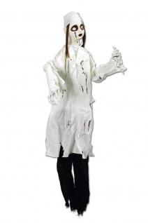 Deko Zombie Figur animiert mörderische Krankenschwester, Hängefigur