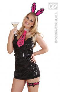 Krawatte Schlips Satin, Spitz pink PARTY GIRL Junggesellenabschied, Hochzeit