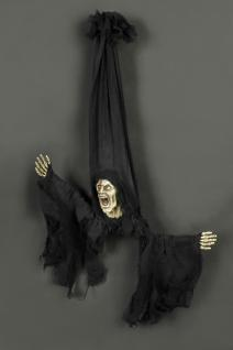 Deko Figur Nachtwandler, ca 70 cm, Sound /Blinkaugen animiert Halloween