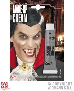 Schminke Creme Make up, Tube GRAU, Horror, Halloween 4034