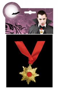 Dracula Vampir Kette Amulett Halskette 7449