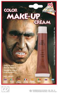 Werwolf Make up -Creme Tube, BRAUN, Schminke, Halloween 4016