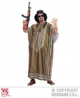 Afrikanischer Diktator, Alleinherrscher, Kostüm Tunikar, Umhang, Gr. L/XL