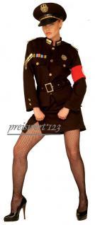 Polizei Kostüm Damen 4-tlg. 36 u.38 + Gratisgeschenk Strumphose
