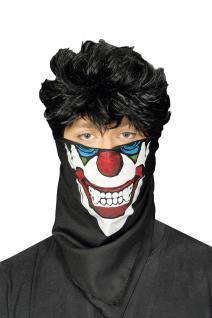 Masken Tuch, Maskentuch Horror Clown Halloween Kostüm