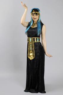Kleid Basic, lang schwarz Ärmellos - Vorschau 2