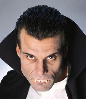 Vampir Zähne, Gebiss Vampirzähne, Dracula Herren Filmqualität - Vorschau