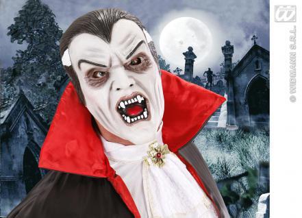 Dracula Maske, SCHAUM LATEX, Halloween Herren