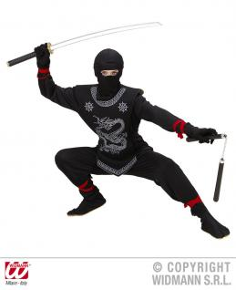 Ninja Kostüm, Ninjakostüm Samurai, Kinder ---158