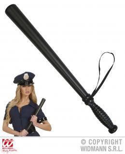 Polizeischlagstock 53 cm passend z. Polizei Kostüm Spielzeug