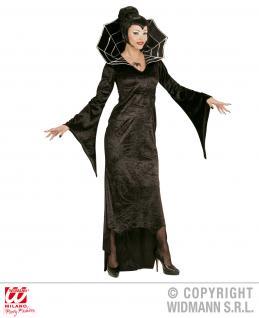 Spinnen Kostüm, Damen, Karneval Halloween L