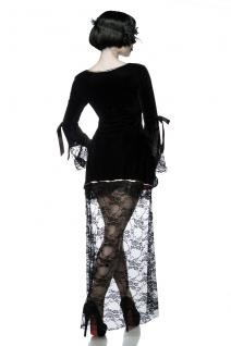 Gothic Vampire Kostüm Komplettset Kleid Maske Damen - Vorschau 2