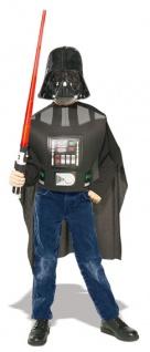 4-tlg Star Wars Set, Kinder, Darth Vader+ Lichtschwert