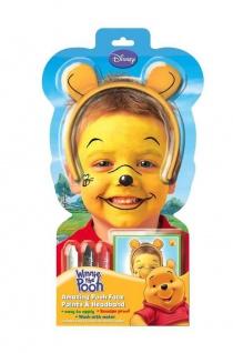Winnie the Pooh Schmink Set Haarreif + Schminke Kinder Geburtstag Disney