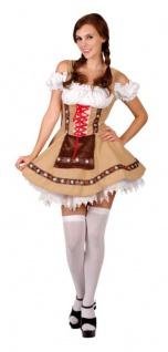 Bayern, Dirndl Kostüm & Petticoat, Oktoberfest, Gr.S / 36