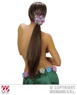 Hibiskus Spange, Blume, Hawaii XL ---gelb - Vorschau 5