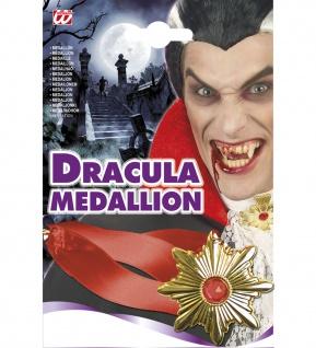 Dracula Vampir Kette Amulett Halskette Halloween Modeschmuck Herren Kinder
