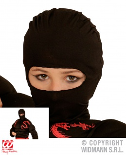 Ninja Samurai Stoff MASKE passend zum Kostüm Erwachsene Herren