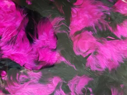 Federboa Boa lila schwarz gespitzt 180 cm 70 g Karneval Charleston 20er Damen