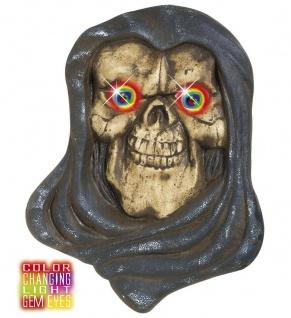Sensenmann, beleuchtet Augen, Farbwechsel große Hängefigur Deko, Halloween