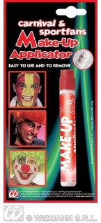 Make up Schmink Applicator ROT, Teufel, Hexen, Fan Farben, WM EM