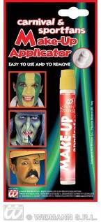 Make up Schmink Applicator GELB, gold, Teufel, Hexen, Fan Farben, WM EM