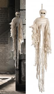 Deko Hänge Figur Mumie Mummy Halloween ca 100 cm lang