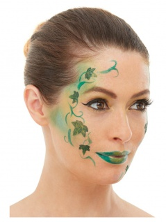 6 tlg. Aqua Schminke FX Make up Gesichtsaufkleber Set Waldfee Fee