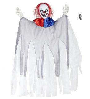 Killer Clown, Figur, Puppe Halloween Deko Party Grusel Hängefigur
