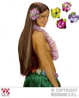 Hibiskus Spange, Blume, Hawaii XL ---gelb