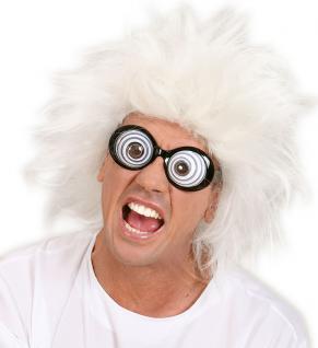 Brille Wahnsinniger, Verrückter Scherzartikel, Mottoparty Karneval