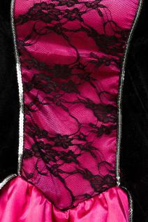 Gothic Vampire Kostüm Komplettset Kleid Maske Damen - Vorschau 5