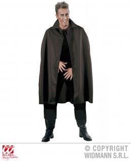 Vampir Dracula Cape, Schwarzer Umhang, Herren Halloween, Motto