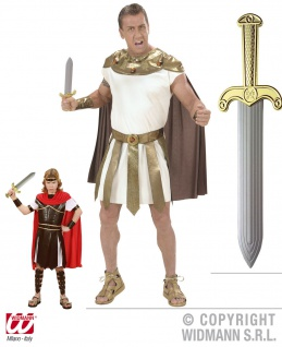 Römer Schwert Cäser Gladiator Legionär 37 cm Karneval p z. Kostüm