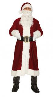 4 tlg Weihnachtsmann Kostüm, edle Ausführung XL-54-56 - Vorschau